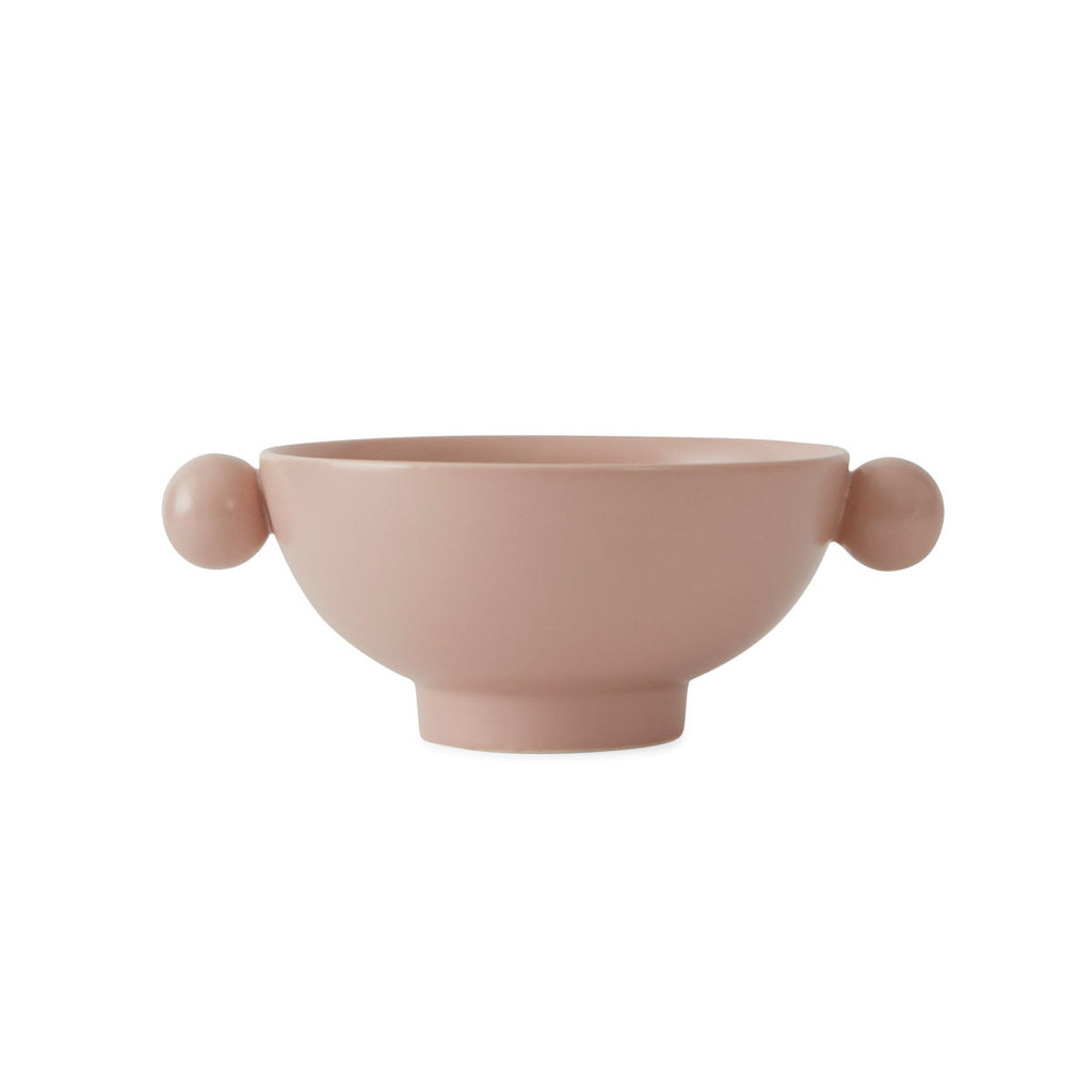 OYOY Living design Inka Bowl Rose stoneware pink