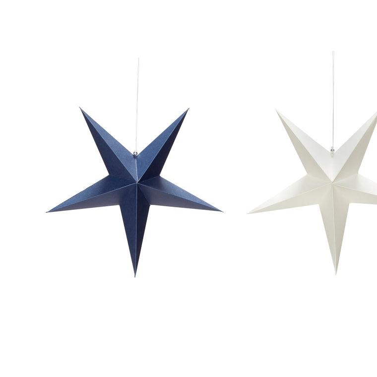 Christmas star set of three 20cm