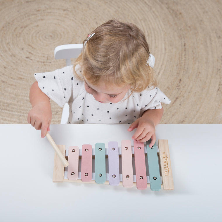 Little Dutch Xylophone pink