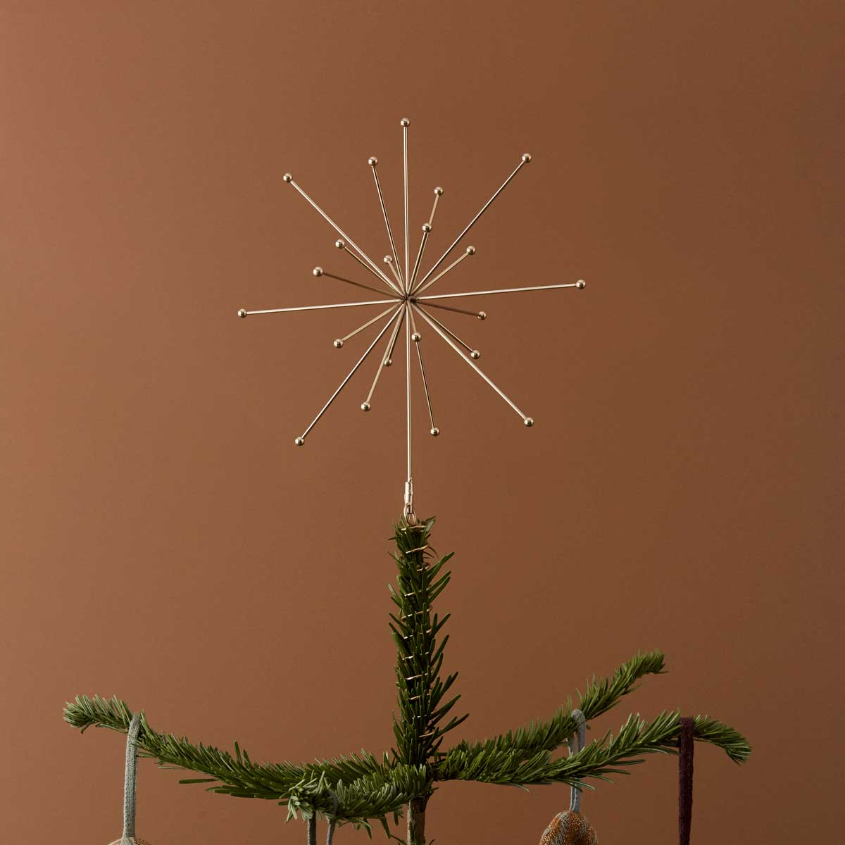 Oyoy living design brass christmas tree top star