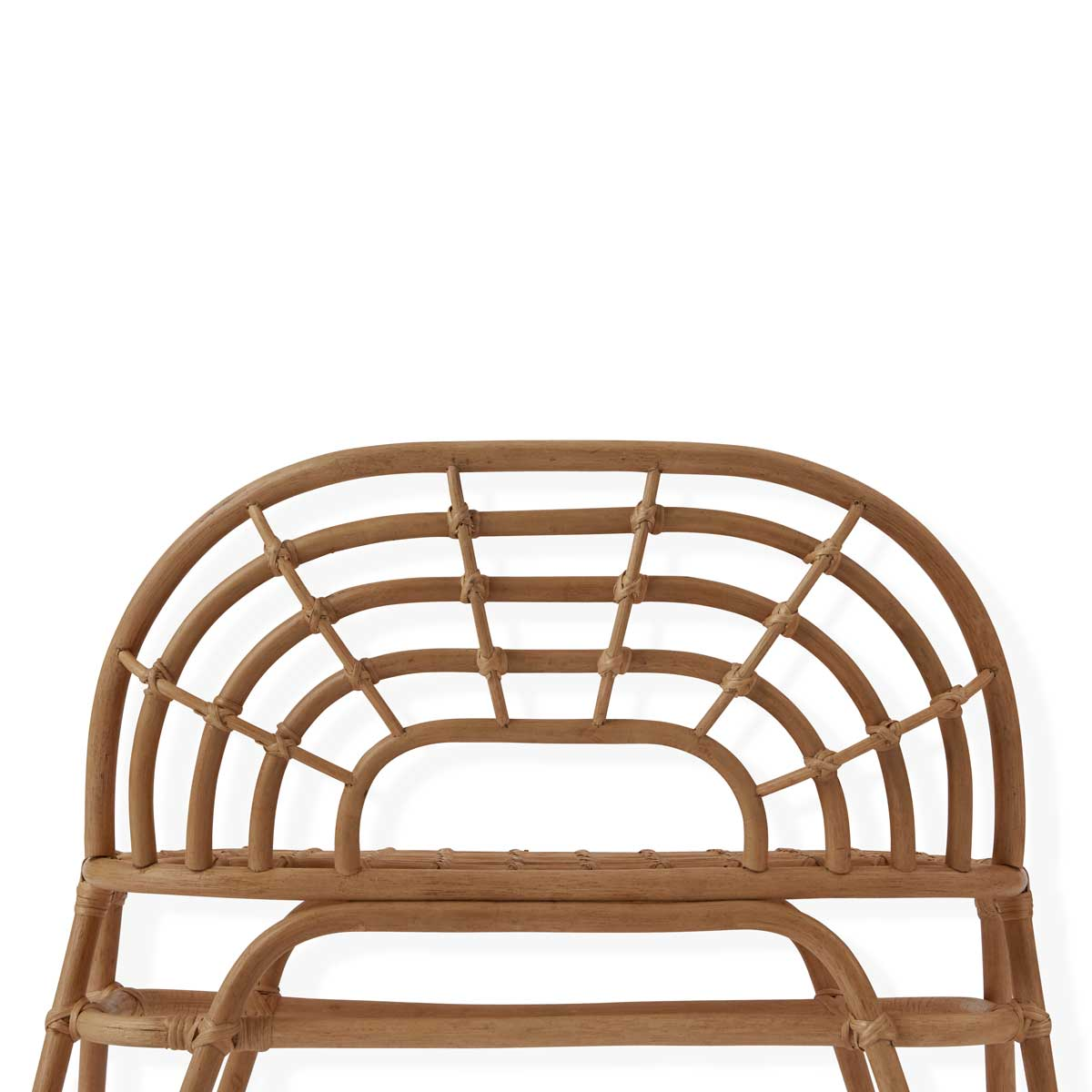 OYOY living design Rainbow Mini Bench Rattan Children's furniture