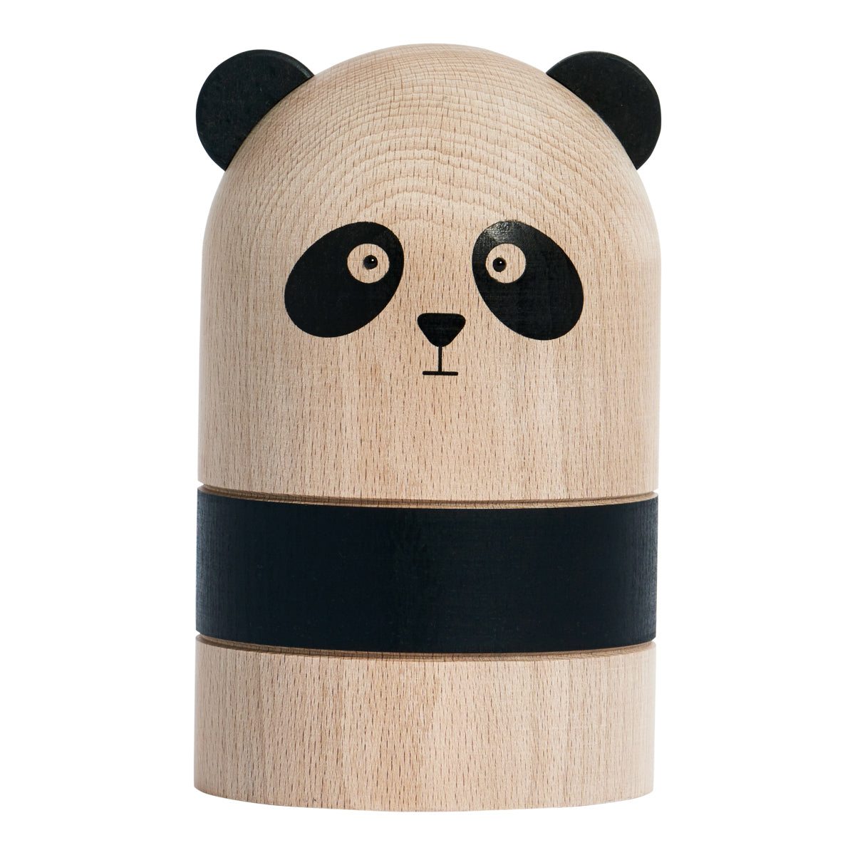Oyoy Living Design Wooden natural Panda Money bank