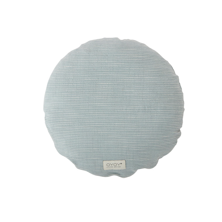 Cushion Kyoto Round - Dusty Blue