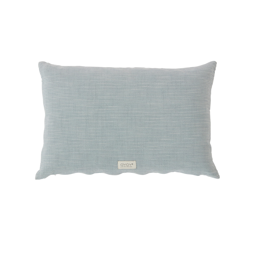 OYOY Living design Cushion Kyoto - Dusty Blue