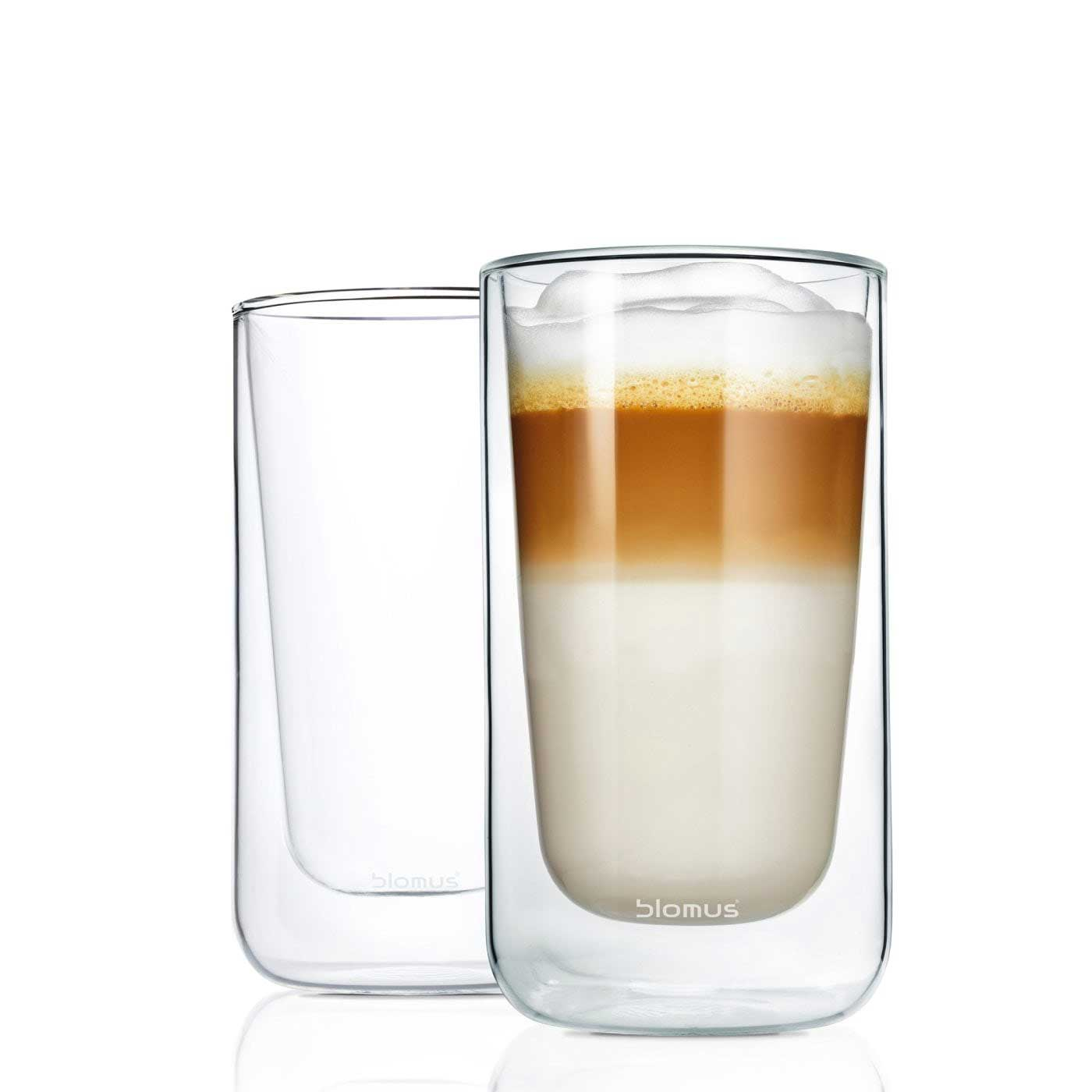 double walled tall glasses from blomus