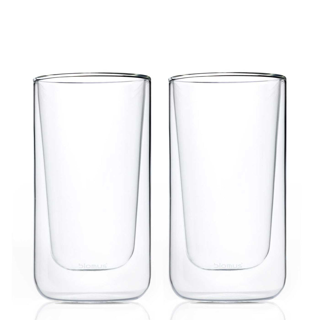 tall hot glasses double walled