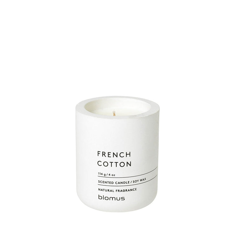 Small Scented Candle French Cotton