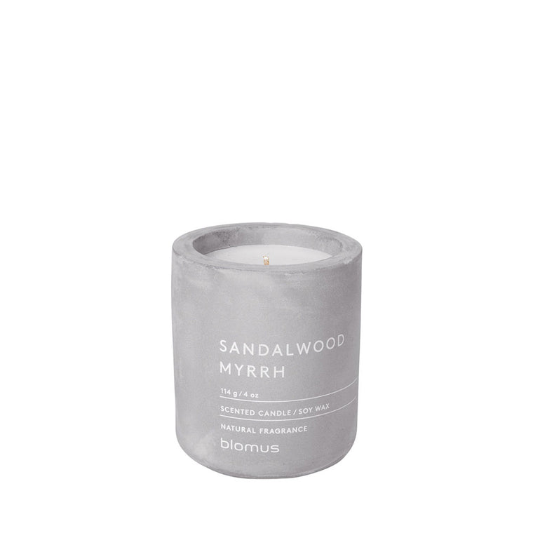 Small Scented candle Sandalwood Myrrh