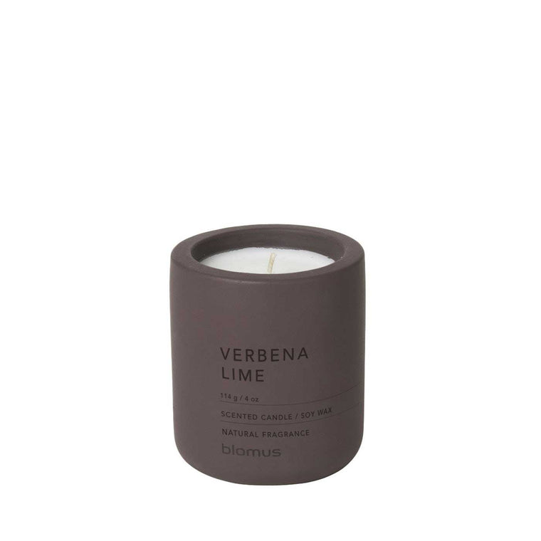 Small Scented Candle Verbena Lime