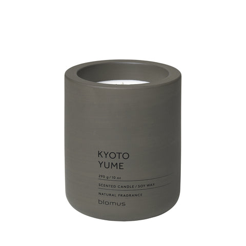 Blomus Scented candle L tarmac Kyoto Yume scented candle Soy wax