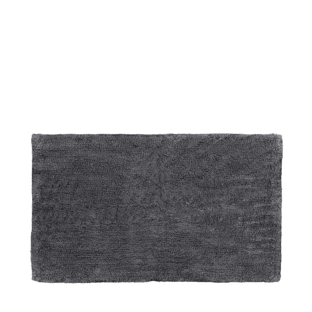 Blomus Twin Bathmat reversible in tarmac and Magnet 60 x 100cm