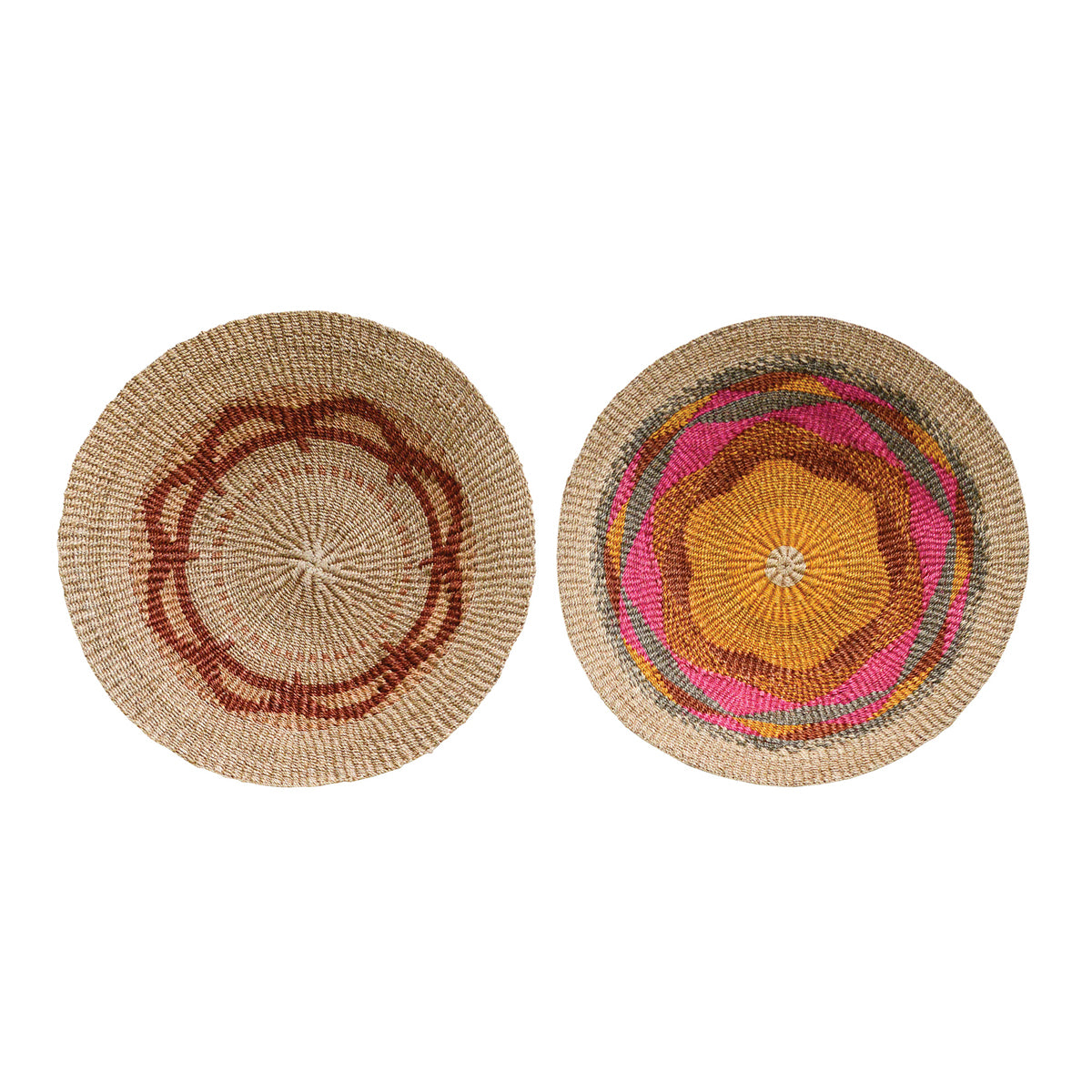 Wall Basket, Multi-color, Jute 60cm