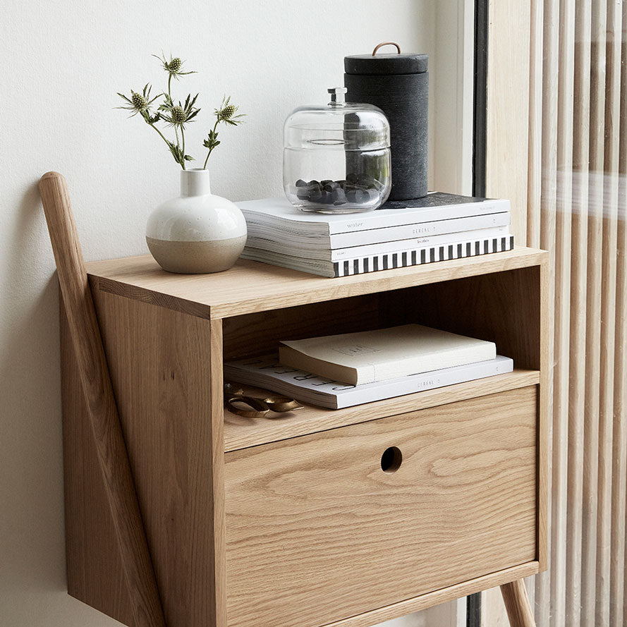 Oak Dresser with drawer nature Hübsch