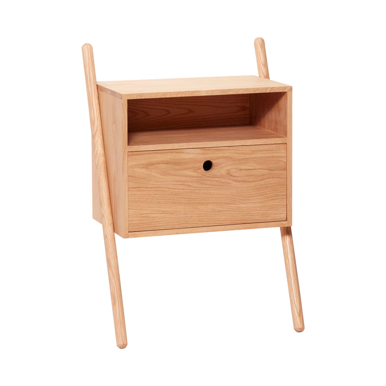 Dresser with drawer, oak, nature