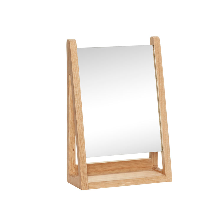 Oak Table mirror
