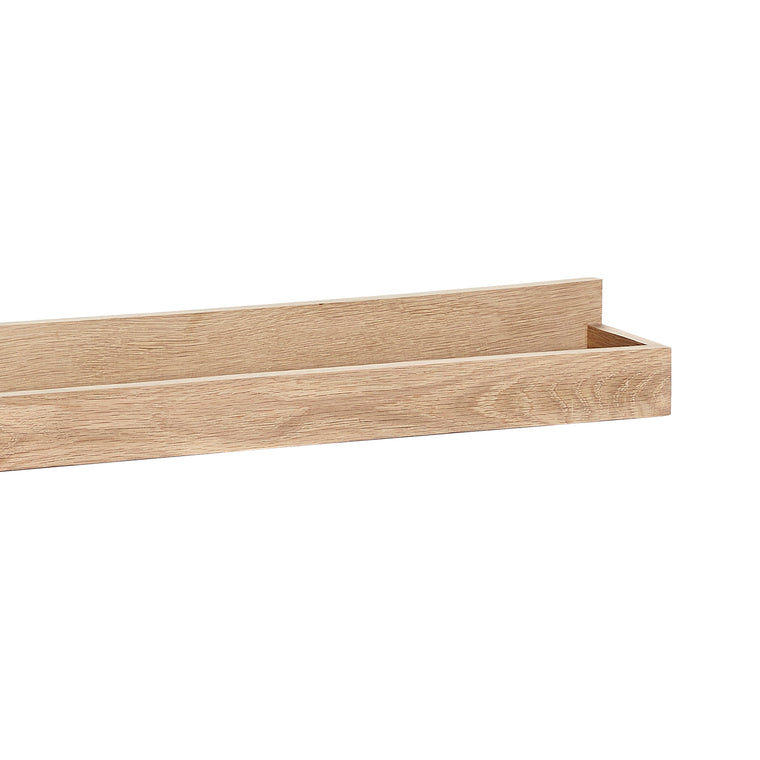 Picture shelf picture ledge oak 80cm Hübsch