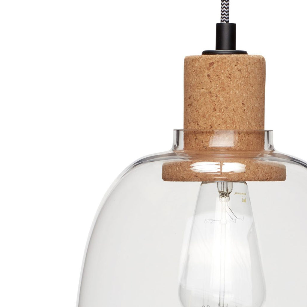 Ceiling Lamp cork pendant from Hübsch