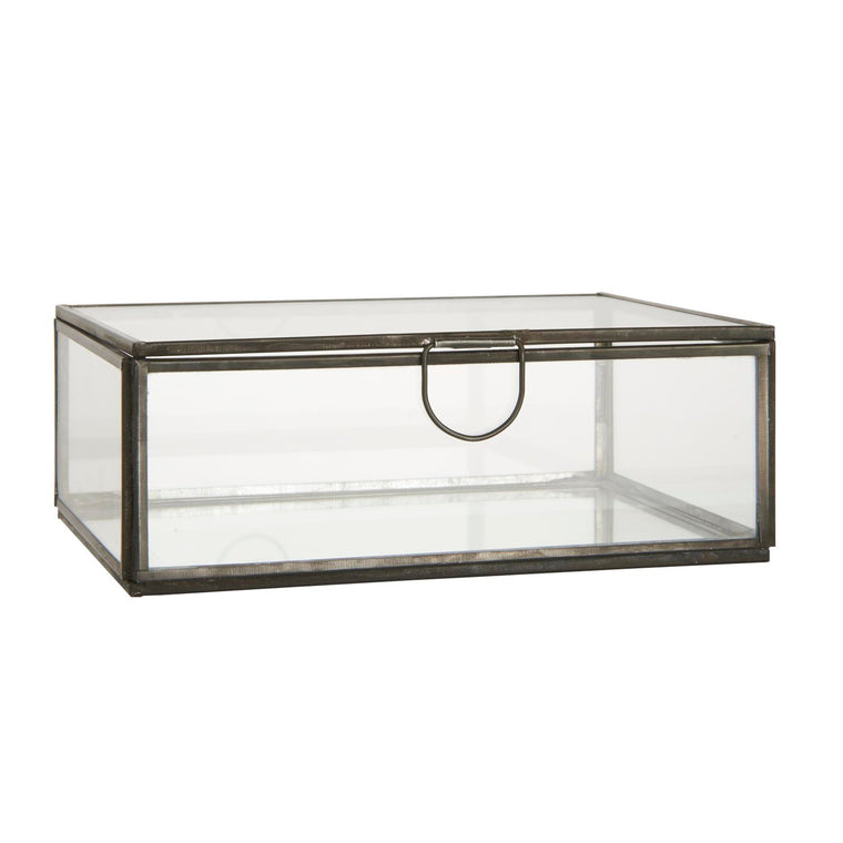 Glass box w/lid ALTUM