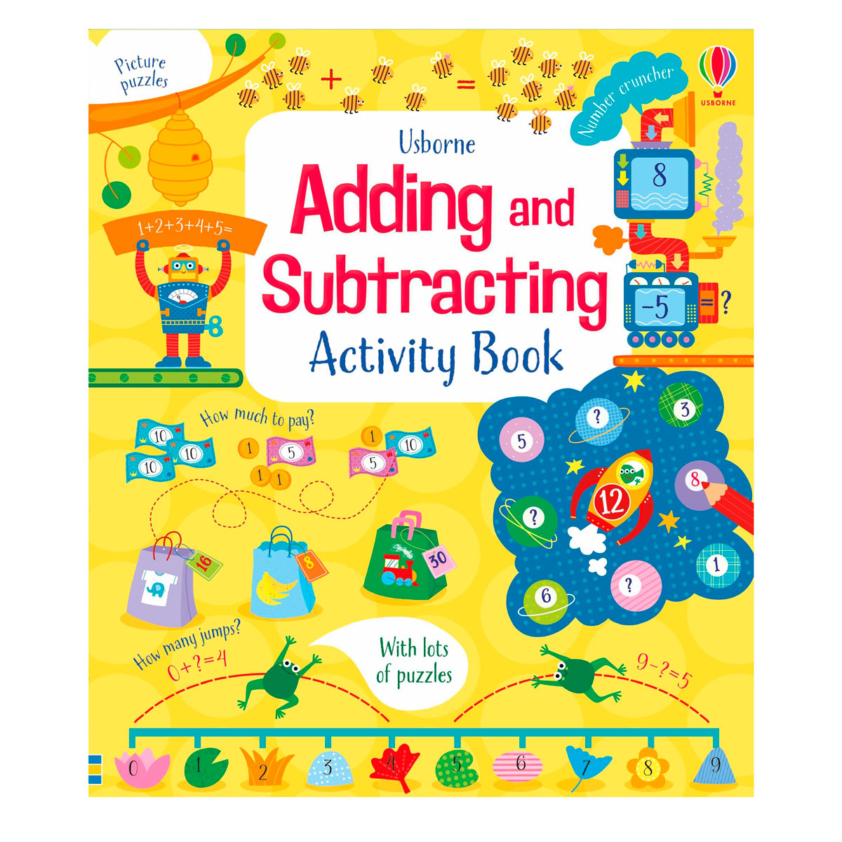 Usbourne Adding and Subtracting Activity Book