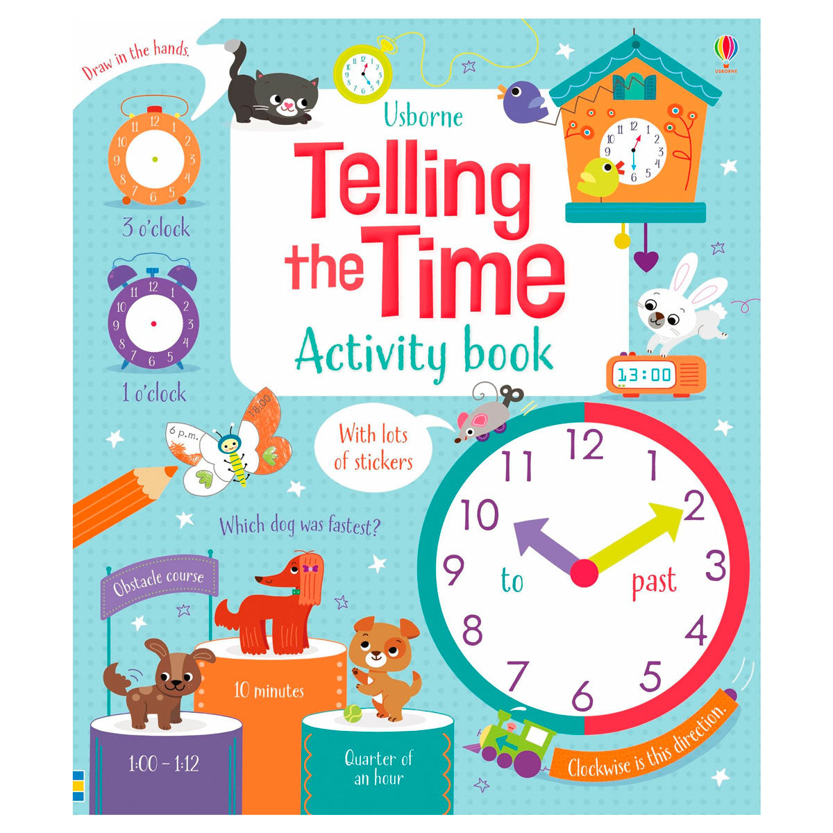 Usbourne Telling the Time Activity Book