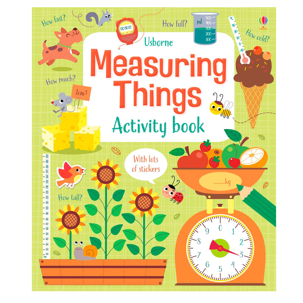 Usbourne Measuring Things Activity Book
