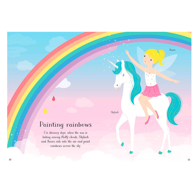 Usbourne Little Sticker Dolly Dressing Unicorns