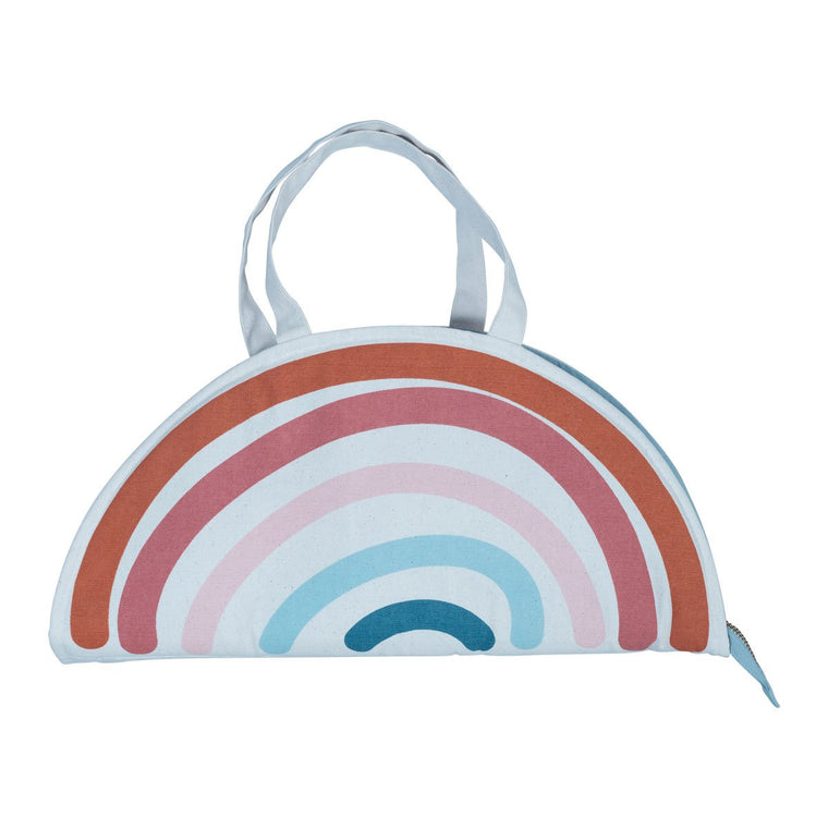 Play Purse Rainbow Fabelab activity mat