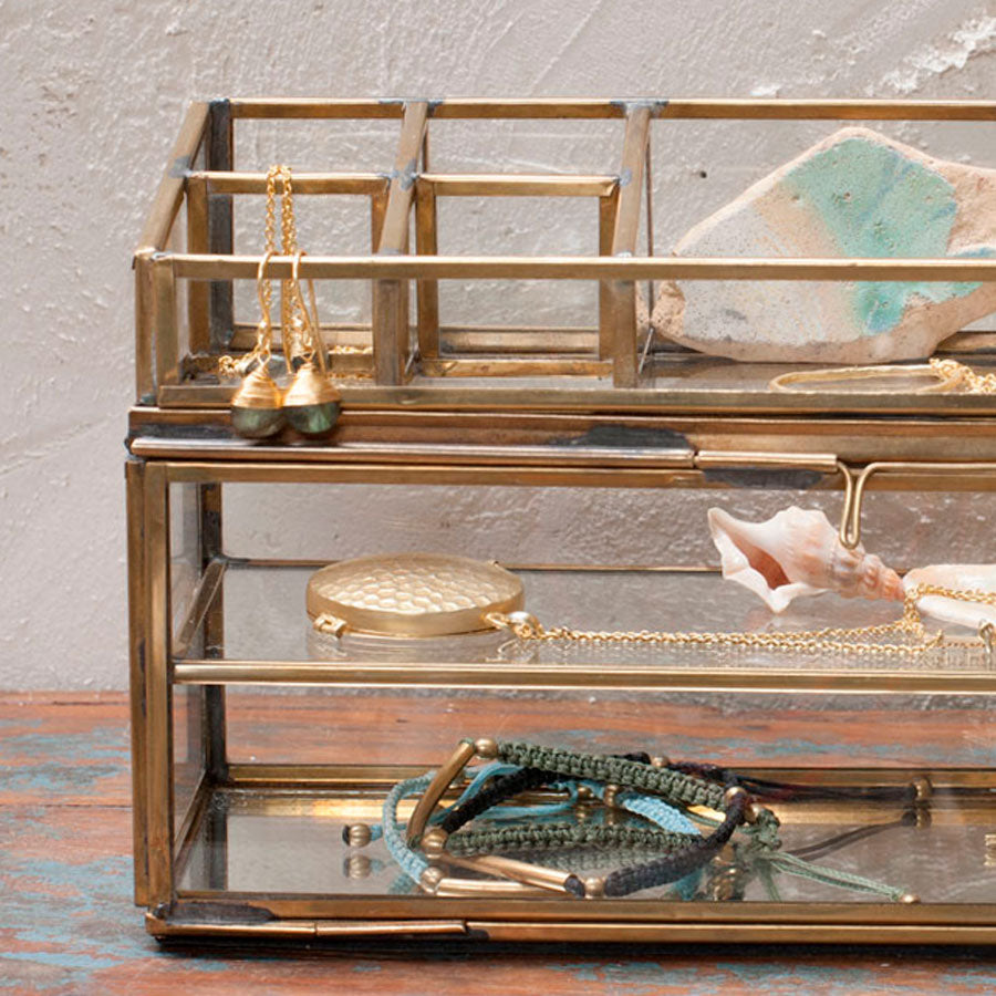 Nkuku Bequai Open Jewellery Box