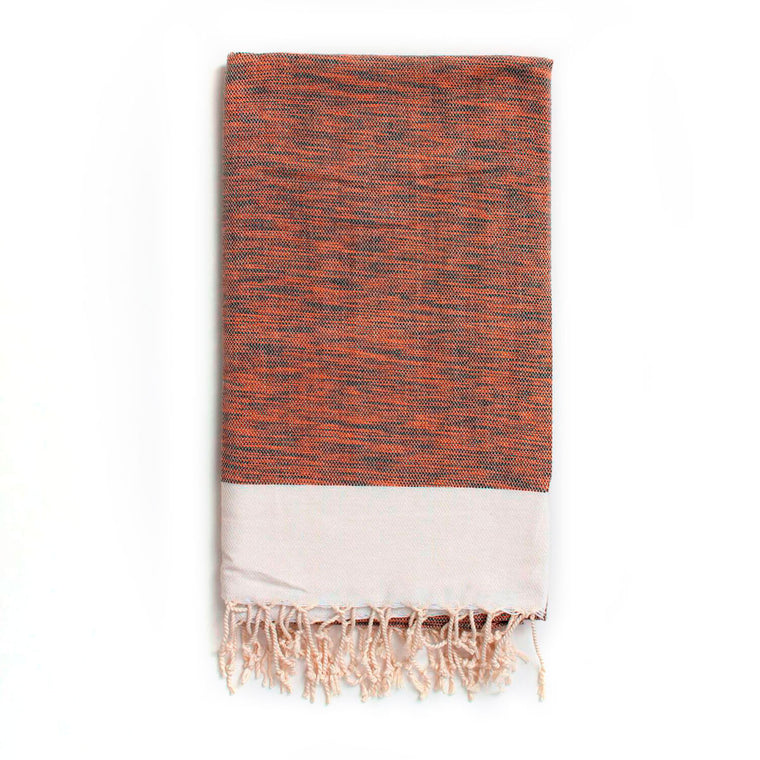Arizona Hammam Towel, Burnt Orange
