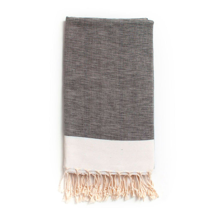 Arizona Hammam Towel, Charcoal