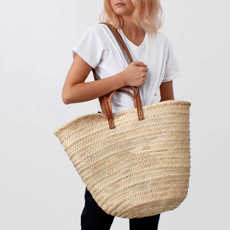 Parisian Shopper basket woven basket