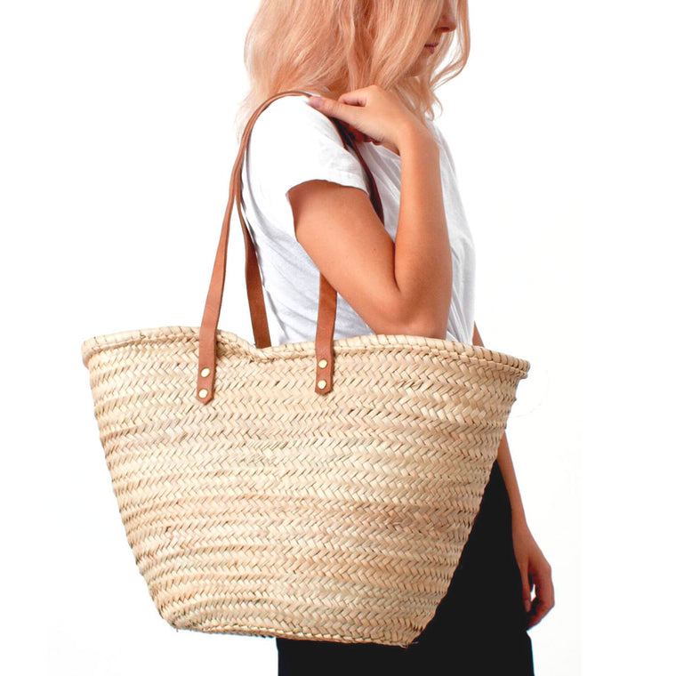 Valencia Shopper basket Bohemia design wicker basket