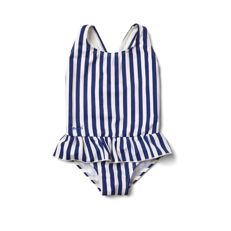Amara Swimsuit navy stripe