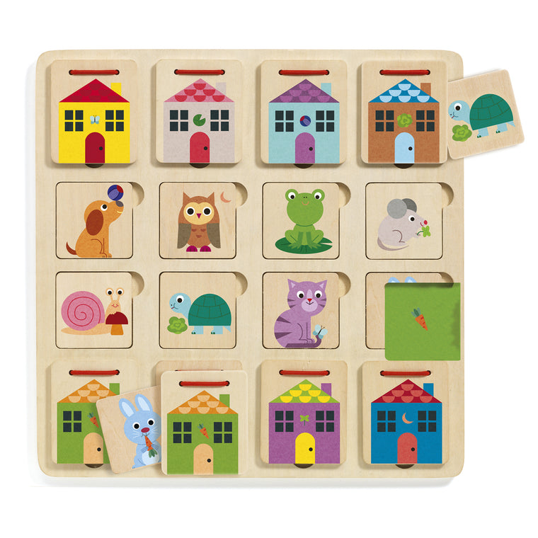 Cabanimo hide and seek puzzle
