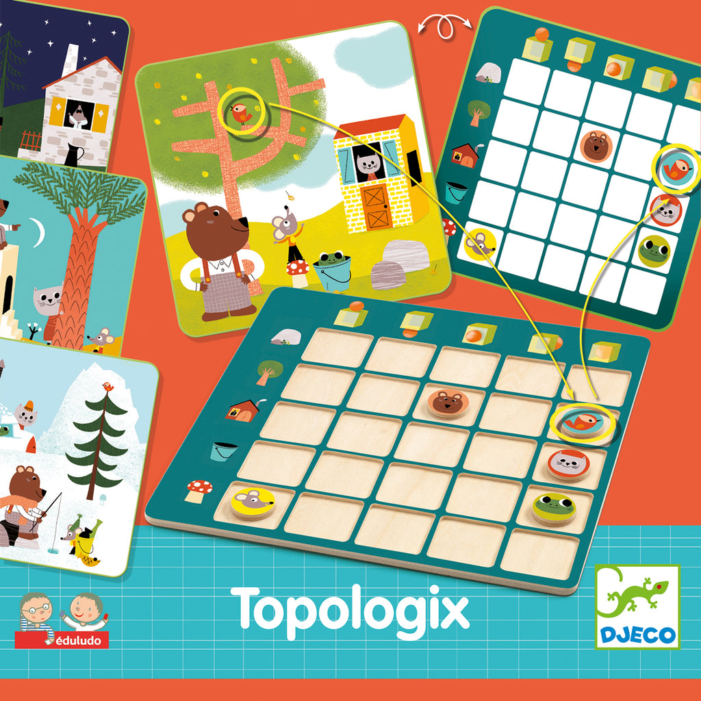 Topologix wooden puzzle from Djeco