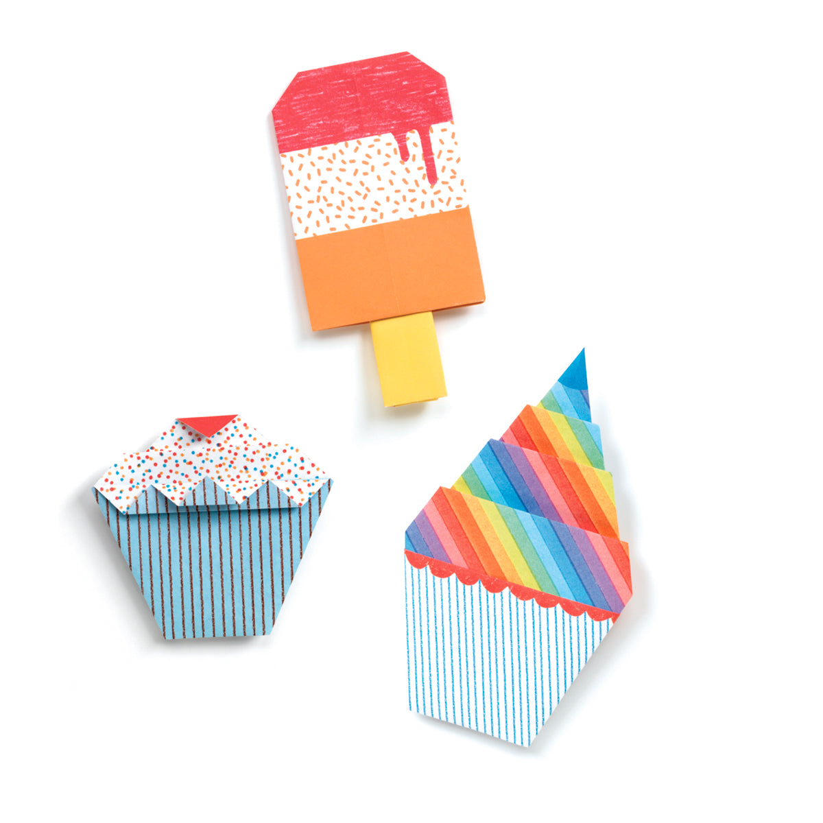 Origami - Sweet Treats ice cream and lollies Djeco