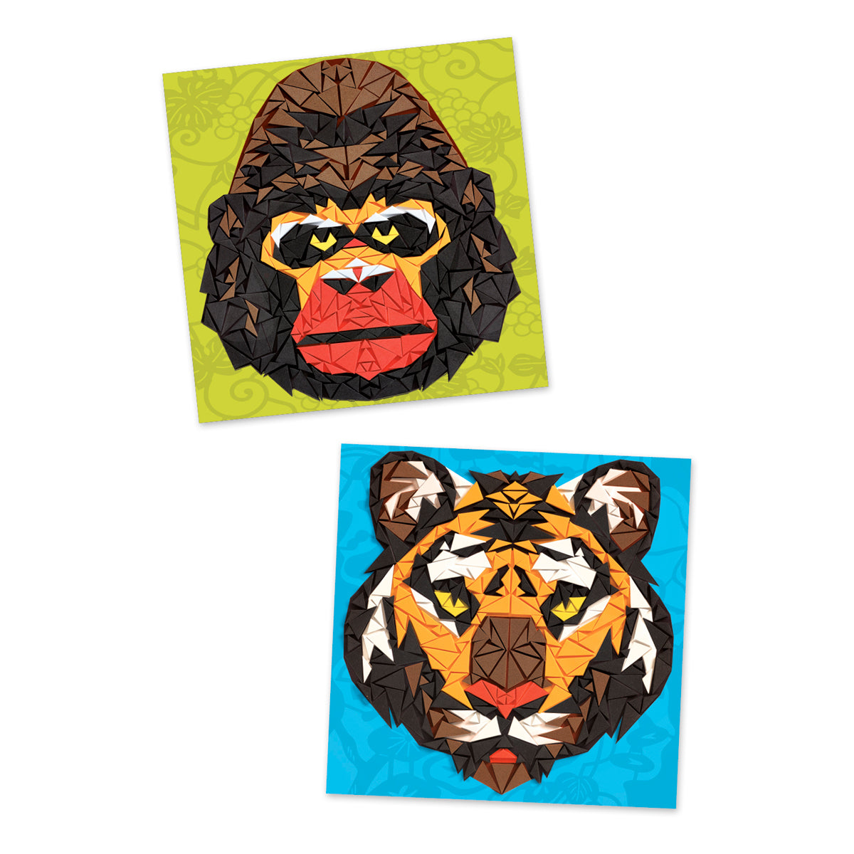 Mosaics Khan Djeco 8-14 years tiger and gorilla