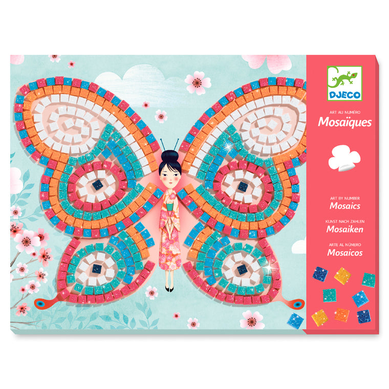 Mosaics Butterfly 4 - 8 years