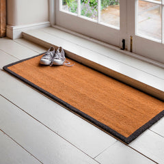 Double Doormat with Charcoal Border Garden trading