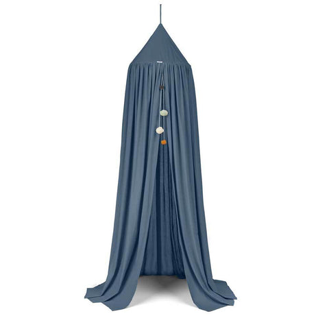 Liewood Enzo Bed Canopy Blue Wave Organic cotton