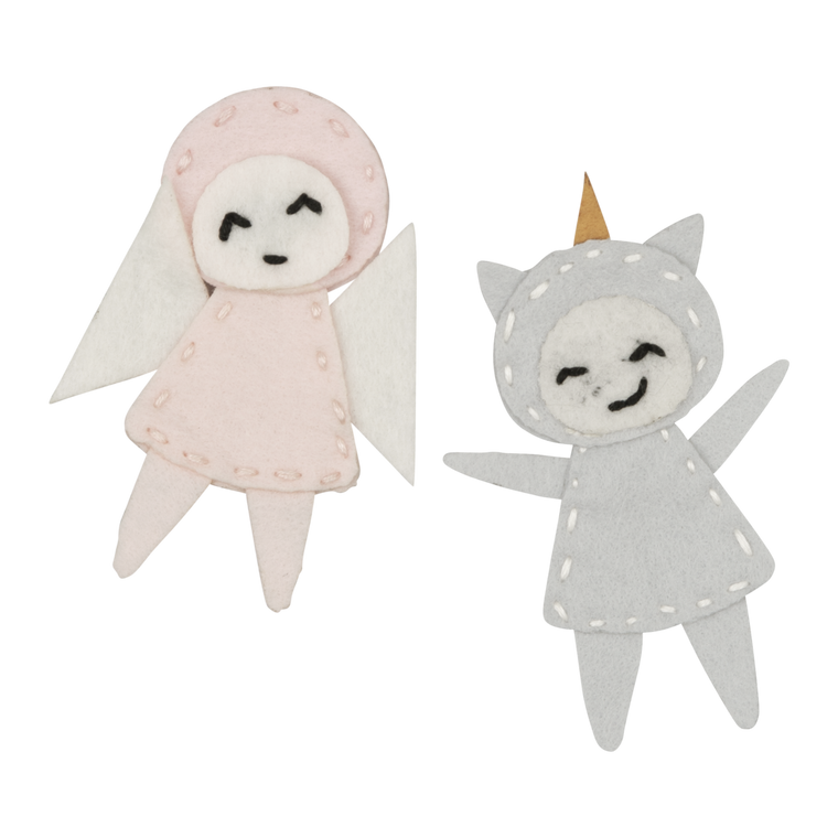Charm craft Unicorn and Fairy