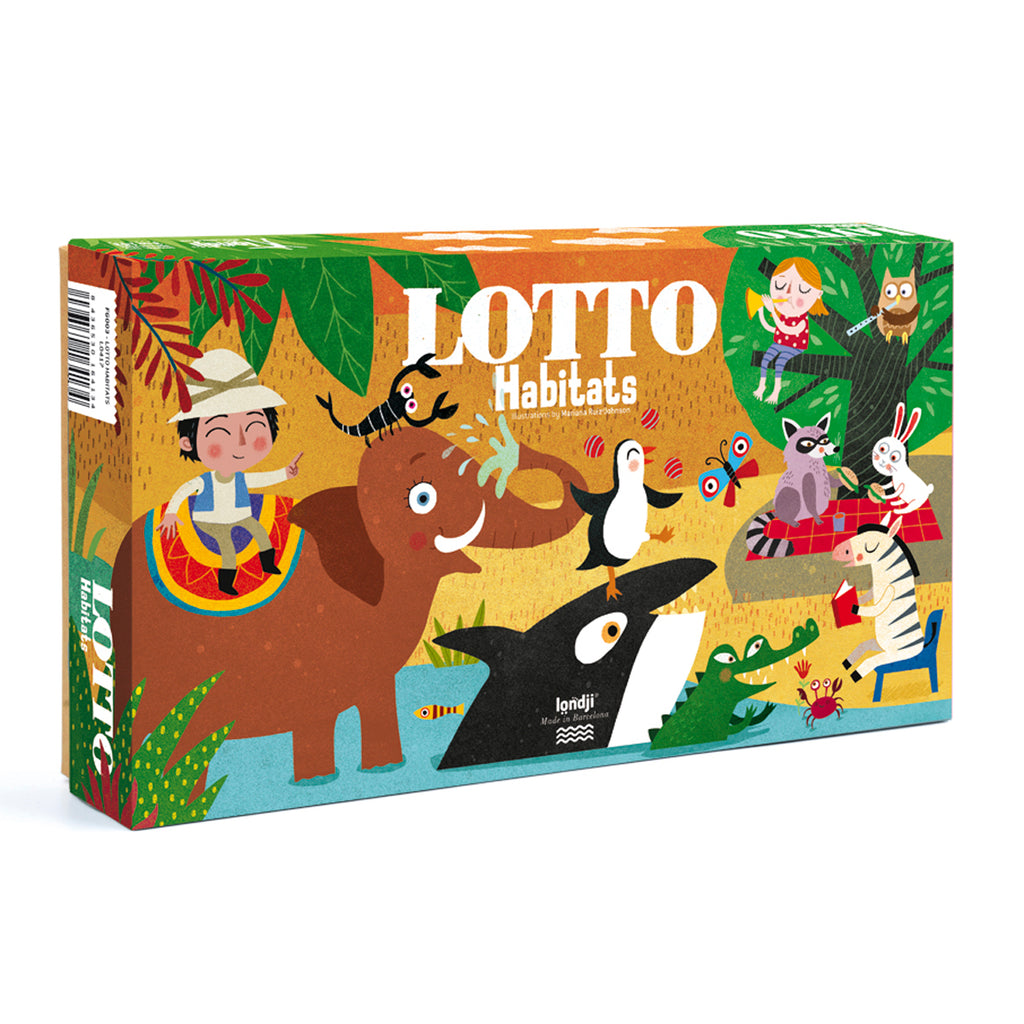 Londji Habitats Lotto game 3-8 years