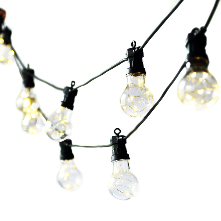 Festoon Lights, Classic - 20 Bulbs