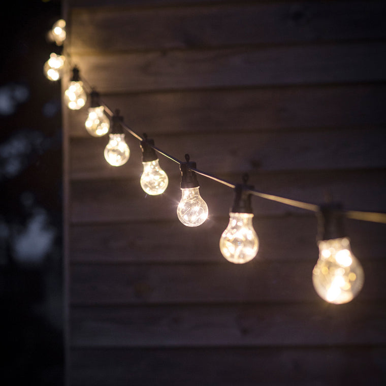 Garden Trading Outdoor Festoon Lights, Classic - 20 Bulbs