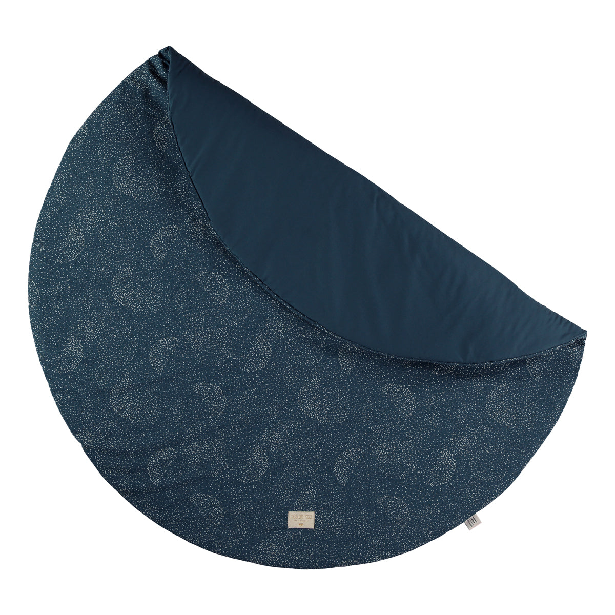 Nobodinoz Full Moon play mat gold bubble/ night blue