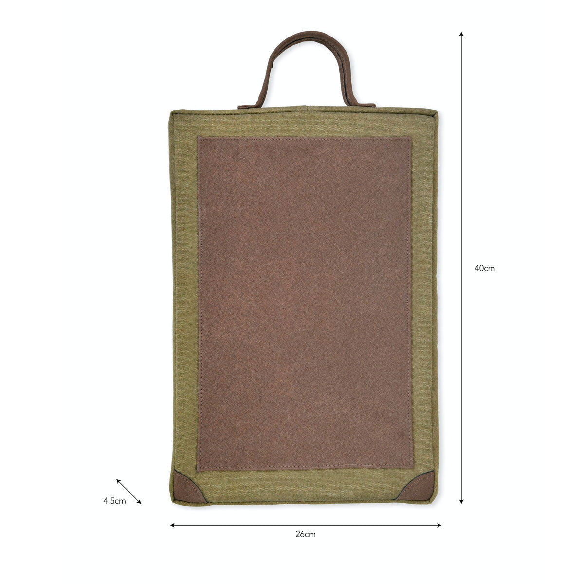 Garden Kneeler with handle for hanging canvas green garden trading