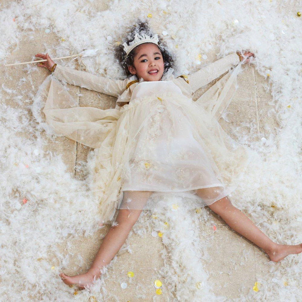 Meri Meri White Tulle Fairy Dress Up 5-6 years