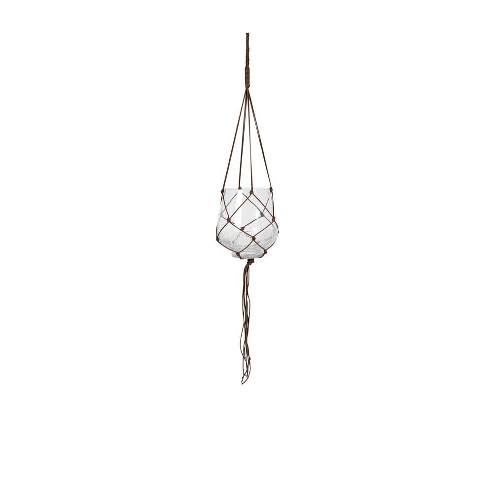 Ibbi Hanging Planter with Rope