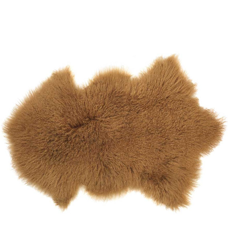 Tibetan Sheepskin Lamb Gold