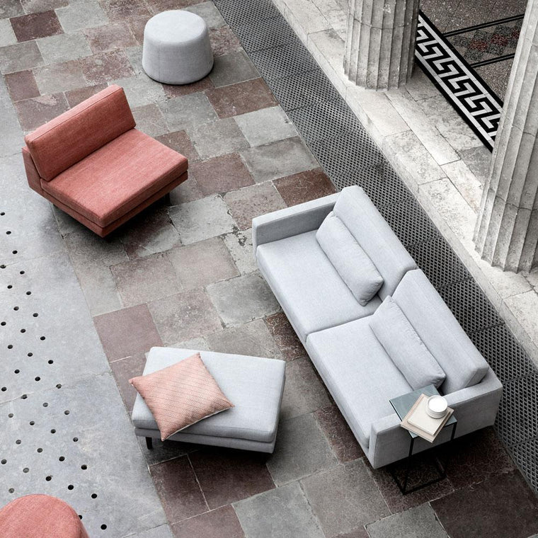 Chair Air Broste Copenhagen and modular sofa from catalogue